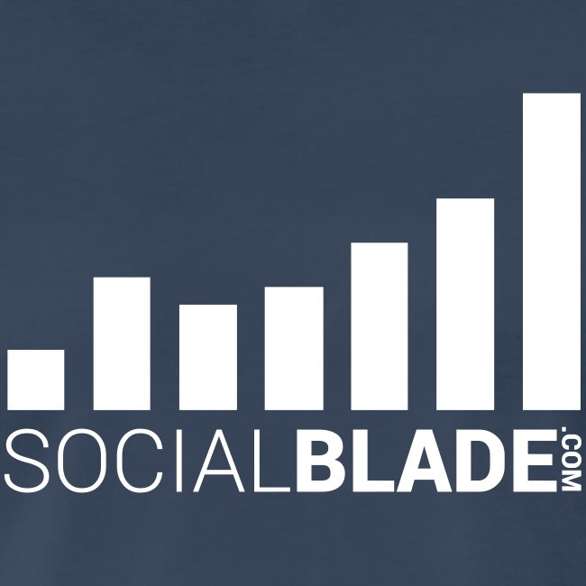 Social Blade 2017 - Traditional (Navy)