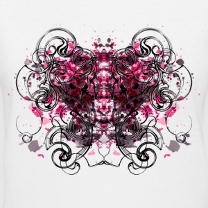 butterfly T-Shirts - Women's V-Neck T-Shirt