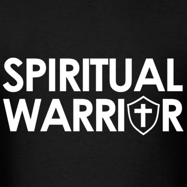 Spiritual Warrior Bible Scripture Christian Gift T-Shirts - Men's T-Shirt