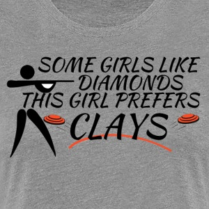 Clay Shooting Shirt - Women's Premium T-Shirt