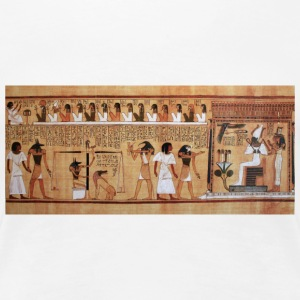 Egyptian Hieroglyphics - Women's Premium T-Shirt