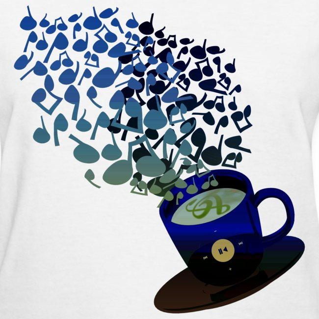 Streaming Blue -- Black - Grey Coffee