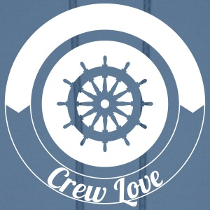 Steering Wheel Sail Crew Love 1c Hoodies - Men's Hoodie