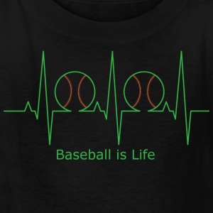 Baseball is Life - Kids' T-Shirt
