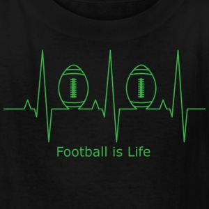 Football is Life - Kids' T-Shirt