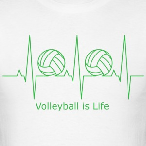 Volleyball is Life - Men's T-Shirt