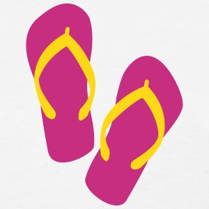 Flip Flops Sandals Beach 2c T-Shirts - Women's T-Shirt