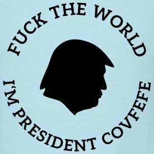 trump president covfefe T-Shirts - Men's T-Shirt