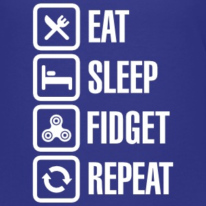 Eat Sleep Fidget Repeat - Fidget Spinner Kids' Shirts - Kids' Premium T-Shirt