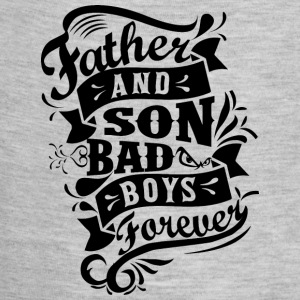 Father and Son Bad Boys Baby Bodysuits - Baby Contrast One Piece