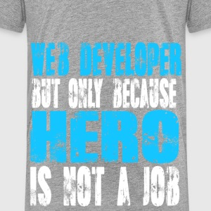 web developer Hero - Kids' Premium T-Shirt