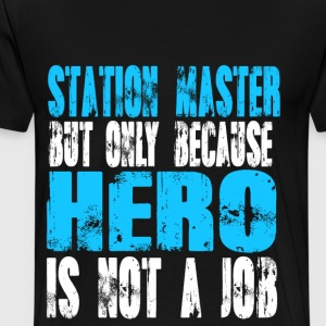 station master Hero - Men's Premium T-Shirt