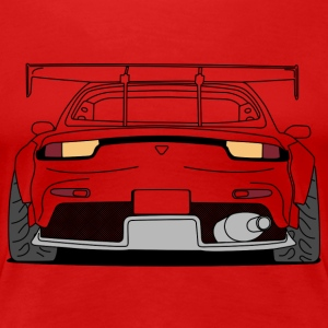rx7 rear outlines T-Shirts - Women's Premium T-Shirt