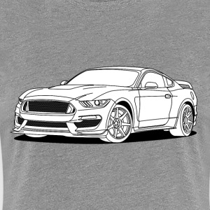 Cool Car White T-Shirts - Women's Premium T-Shirt