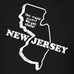 NEW JERSEY STATE SLOGAN T-Shirts - Men's T-Shirt