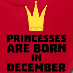 Princesses are born in DECEMBER S5q0o Caps - Bandana