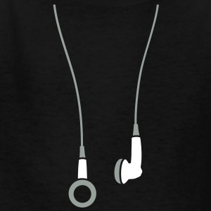 Earphones 2clr Kids' Shirts - Kids' T-Shirt