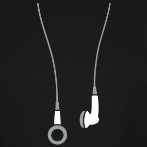 Earphones 2clr T-Shirts - Men's Tall T-Shirt
