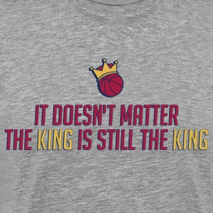King Basketball T-Shirts - Men's Premium T-Shirt