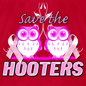 save_the_hooters T-Shirts - Men's T-Shirt by American Apparel