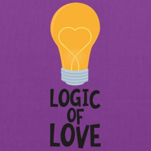 Logic of love bulp So2kl Bags & backpacks - Tote Bag