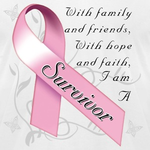 breast_cancer_survivor T-Shirts - Men's T-Shirt by American Apparel