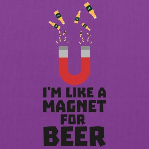 Like a Beer Magnet Suq5z Bags & backpacks - Tote Bag