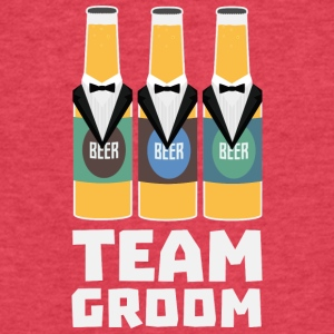 Team Groom Beerbottles Sqf18 T-Shirts - Fitted Cotton/Poly T-Shirt by Next Level