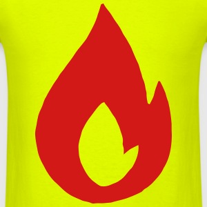 Flame T-Shirts - Men's T-Shirt