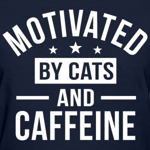Cats and Caffeine T-Shirts - Women's T-Shirt