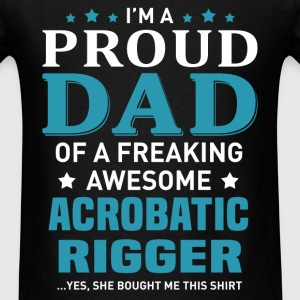 Acrobatic Rigger's Dad - Men's T-Shirt