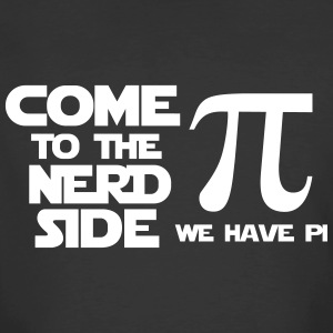 Come to the nerd side we have pi - Men's 50/50 T-Shirt