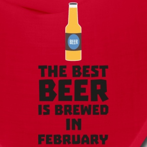 Best Beer is brewed in February S4i8g Caps - Bandana