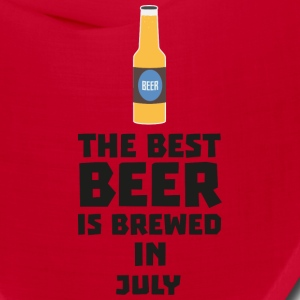 Best Beer is brewed in July S4kf3 Caps - Bandana