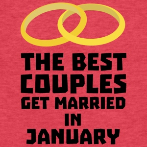 The Best Couples in JANUARY S00xc T-Shirts - Fitted Cotton/Poly T-Shirt by Next Level