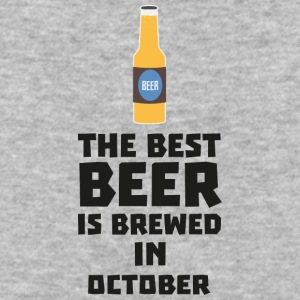 Best Beer is brewed in October S5k5z T-Shirts - Baseball T-Shirt