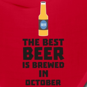 Best Beer is brewed in October S5k5z Caps - Bandana