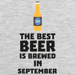 Best Beer is brewed in September S40jz Sportswear - Men's Premium Tank