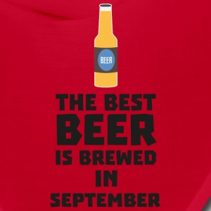 Best Beer is brewed in September S40jz Caps - Bandana