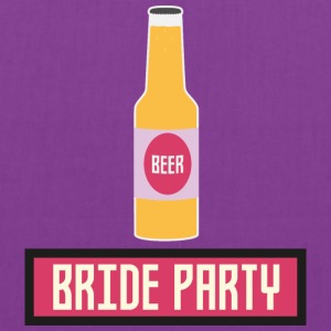 Bride Party Beer Bottle S6542 Bags & backpacks - Tote Bag