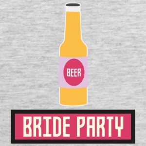 Bride Party Beer Bottle S6542 Sportswear - Men's Premium Tank