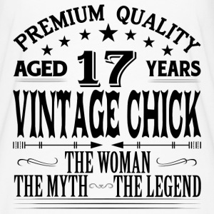 VINTAGE CHICK AGED 17 YEARS T-Shirts - Women's Flowy T-Shirt