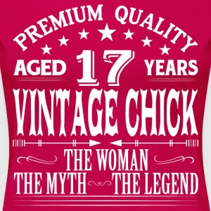 VINTAGE CHICK AGED 17 YEARS T-Shirts - Women's Premium T-Shirt