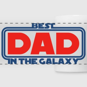 Best Dad in the Galaxy Mugs & Drinkware - Panoramic Mug