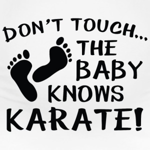 The Baby Knows Karate! - Women's Maternity T-Shirt