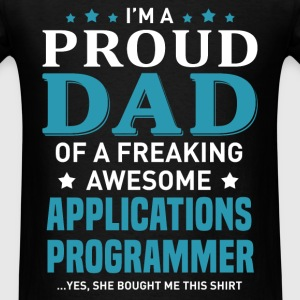 Applications Programmer's Dad - Men's T-Shirt