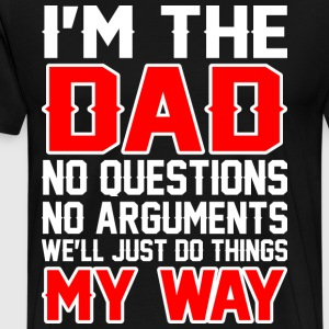 Im The Dad T-Shirts - Men's Premium T-Shirt