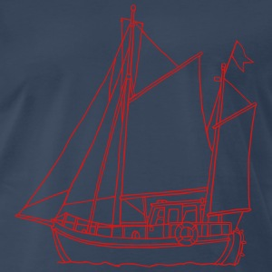 sailing boat - Men's Premium T-Shirt