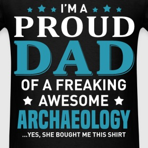 Archaeology's Dad - Men's T-Shirt