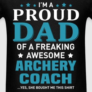 Archery Coach's Dad - Men's T-Shirt